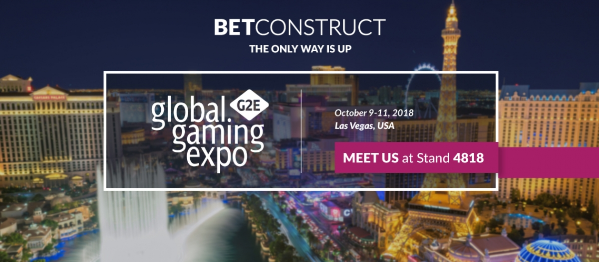 BetConstruct Takes Its Latest Enhancements to G2E Vegas