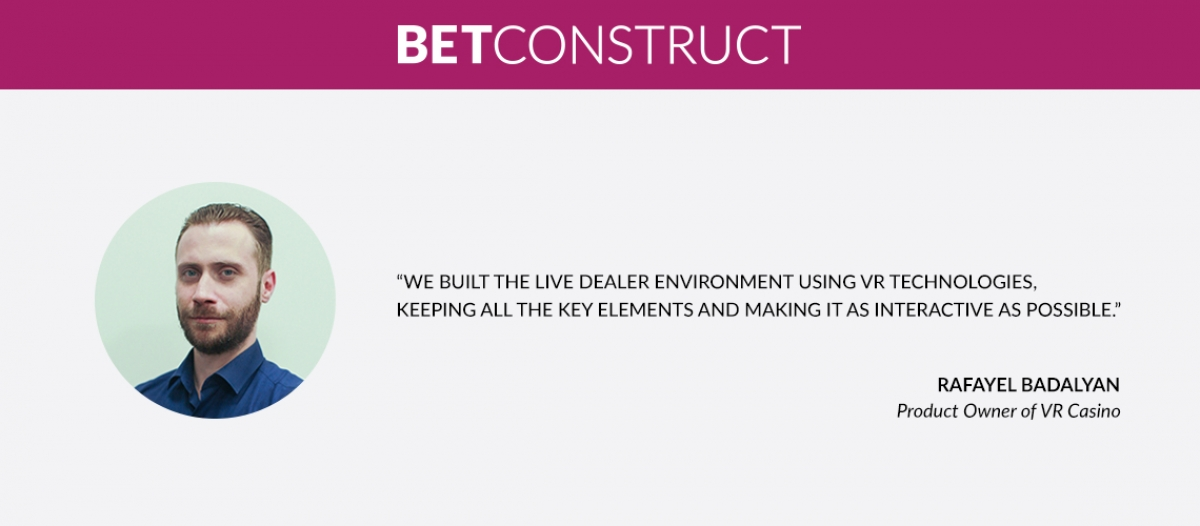 BetConstruct Showcases the Potential of VR Technology