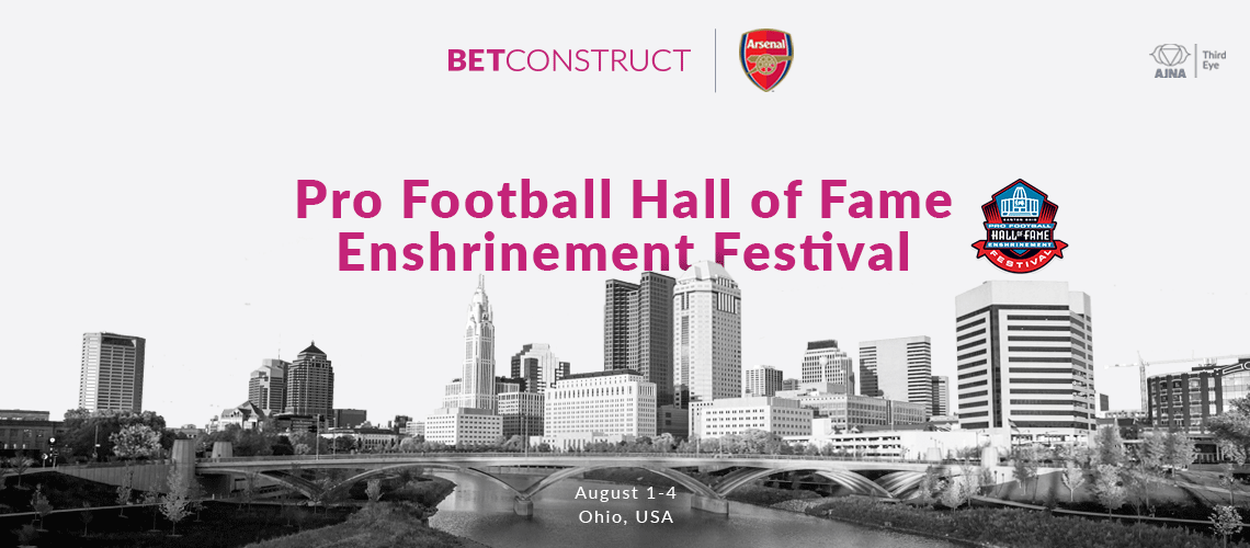 Pro Football Hall of Fame Invites BetConstruct to Enshrinement Fest