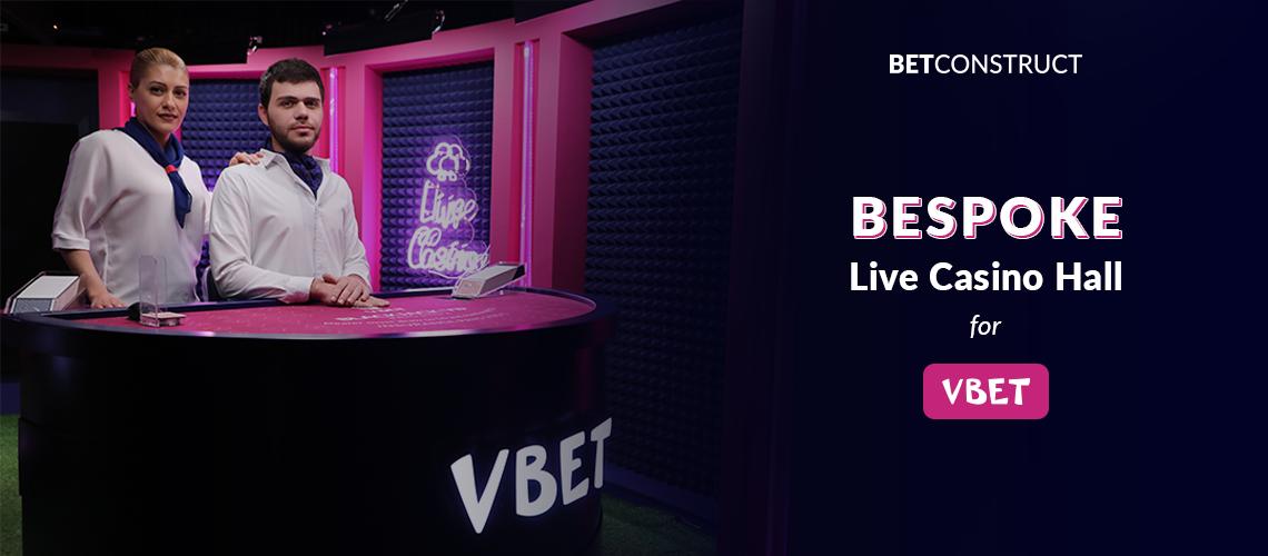 BetConstruct Builds a Bespoke Live Casino Studio for VBet