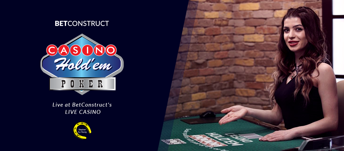 BetConstruct Extends Its Live Games with Casino Hold'em