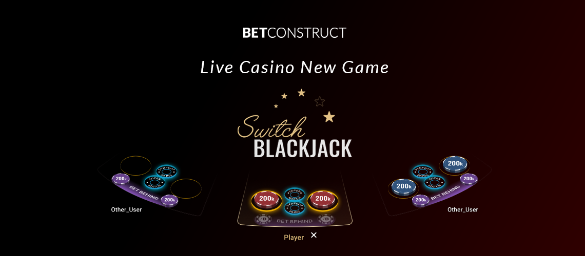 BetConstruct Switches Up Live BlackJack