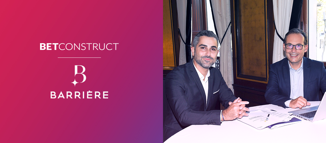 BetConstruct Partners with Barrière to Help Launch Its First Online Platform