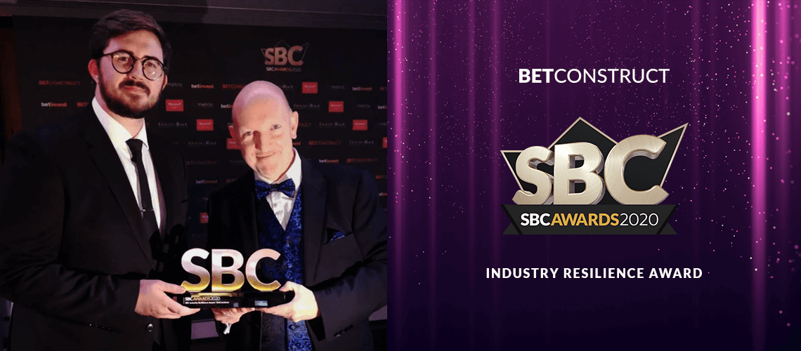 BetConstruct Receives Industry Resilience Award at SBC