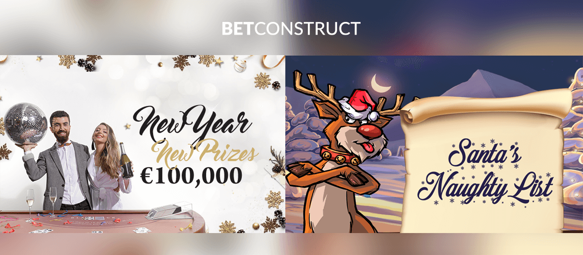BetConstruct Doubles Player Engagement with 2 New Year Tournaments