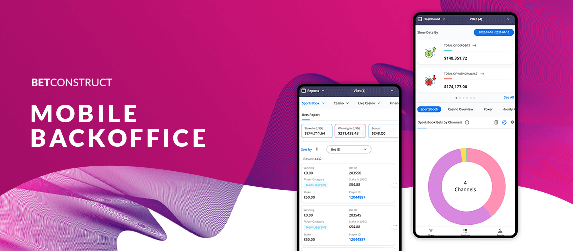 Betconstruct's Backoffice is Now Available on Mobile