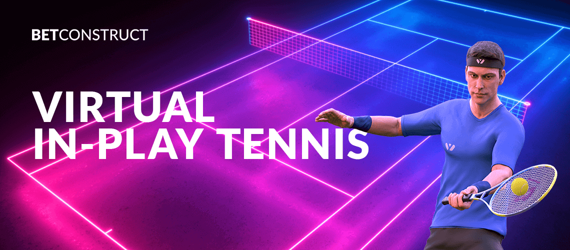 BetConstruct Sets Virtual In-Play Tennis in Motion