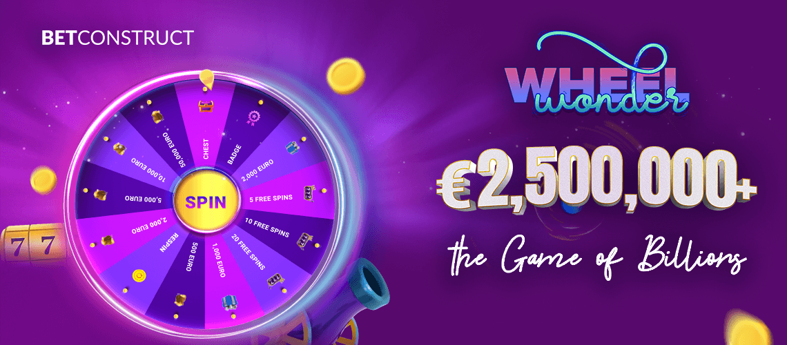 BetConstruct Drives Higher Player Engagement with Wonder Wheel Promo