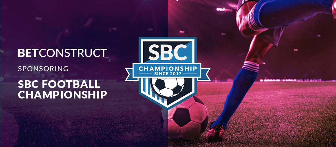 BetConstruct Proudly Supports  The SBC Football Championship 2021