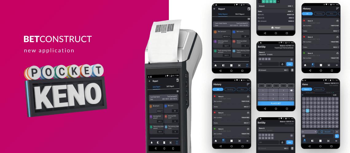 BetConstruct Releases Pocket Keno Application