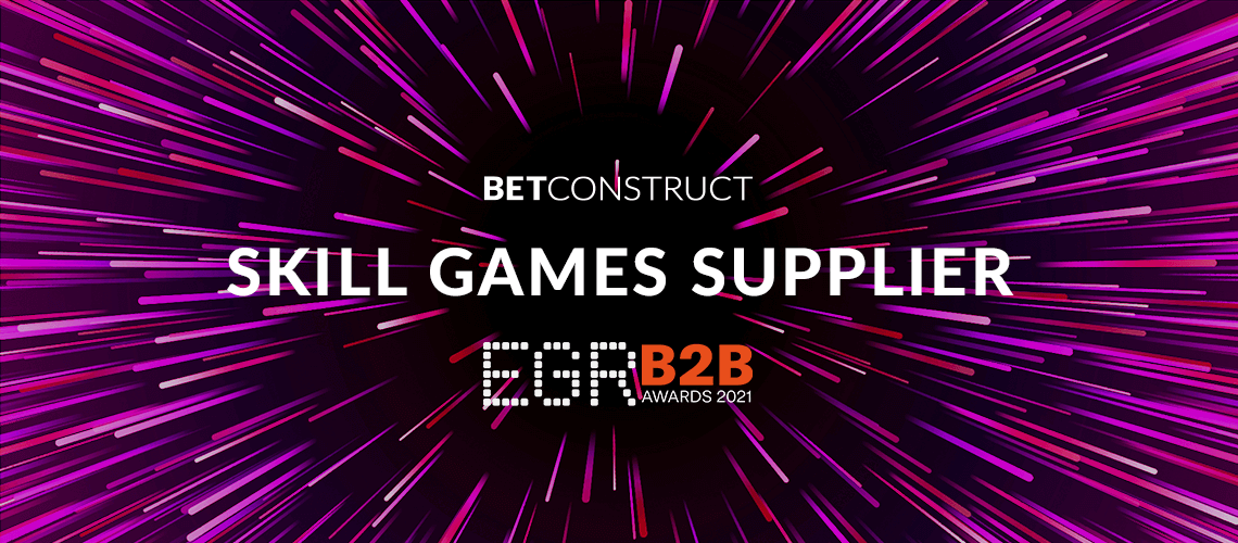 BetConstruct Becomes Skill Games Supplier of EGR 2021