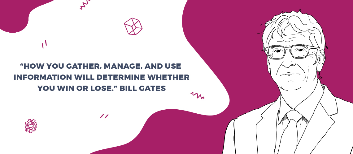 Bill Gates crm quote