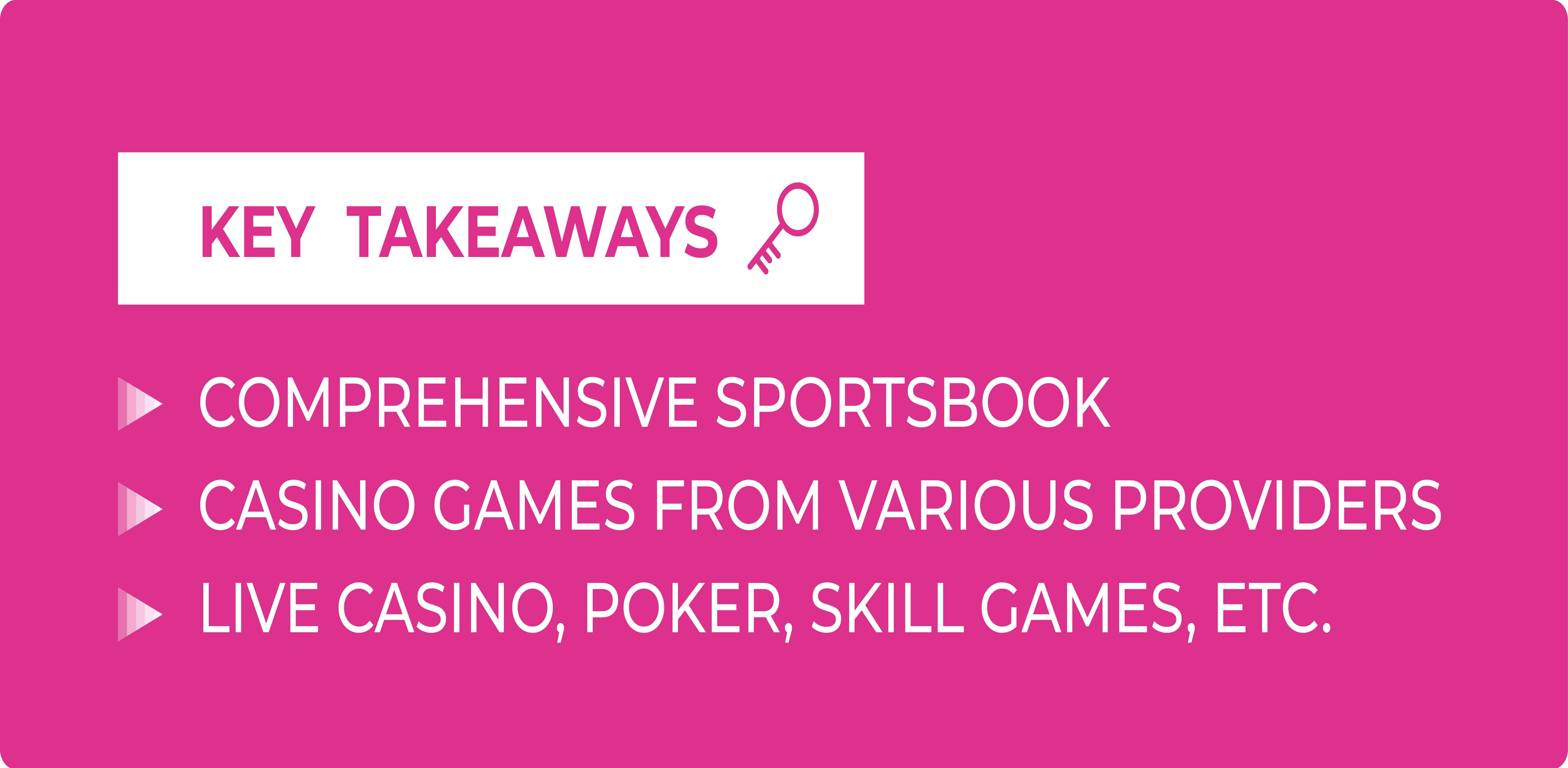 BetConstruct sportsbook, casino, live casino