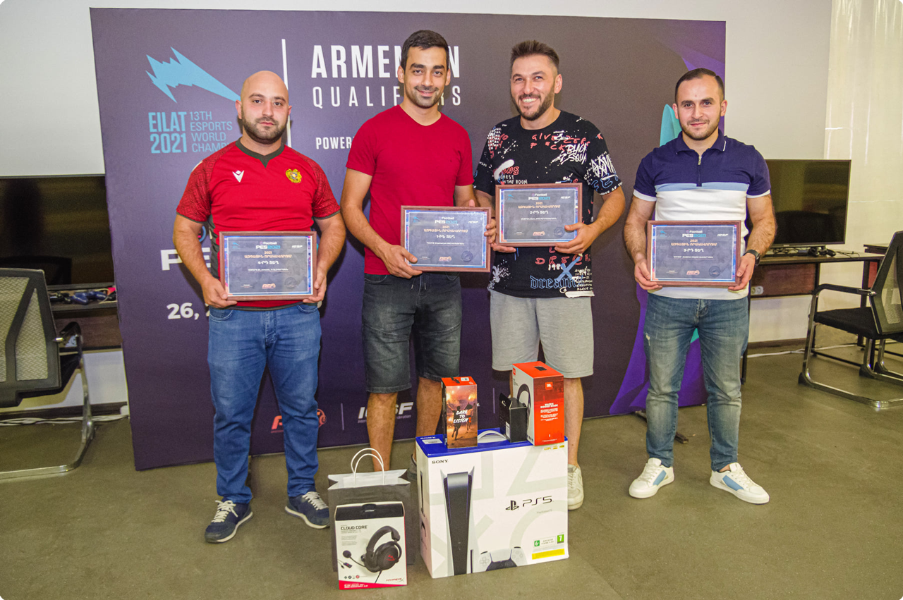 EILAT2021 eFootball PES2021 national qualifiers was held on June 26 and 27