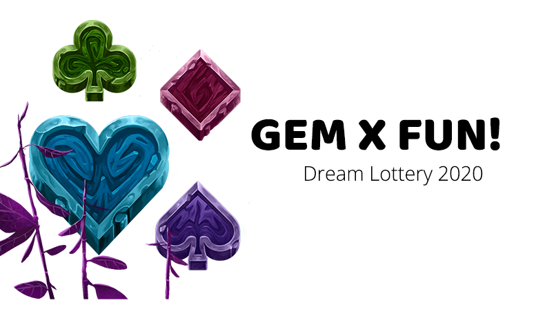 Gem x Fun Lottery 2020!