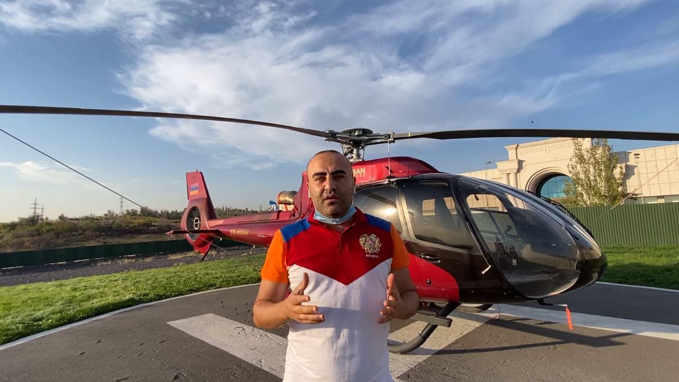 Սննդի հավաքագրում Արցախից ժամանած ընտանիքների համար. Կամո Թովմասյանի ու Armenian Helicopters-ի նախաձեռնությունը