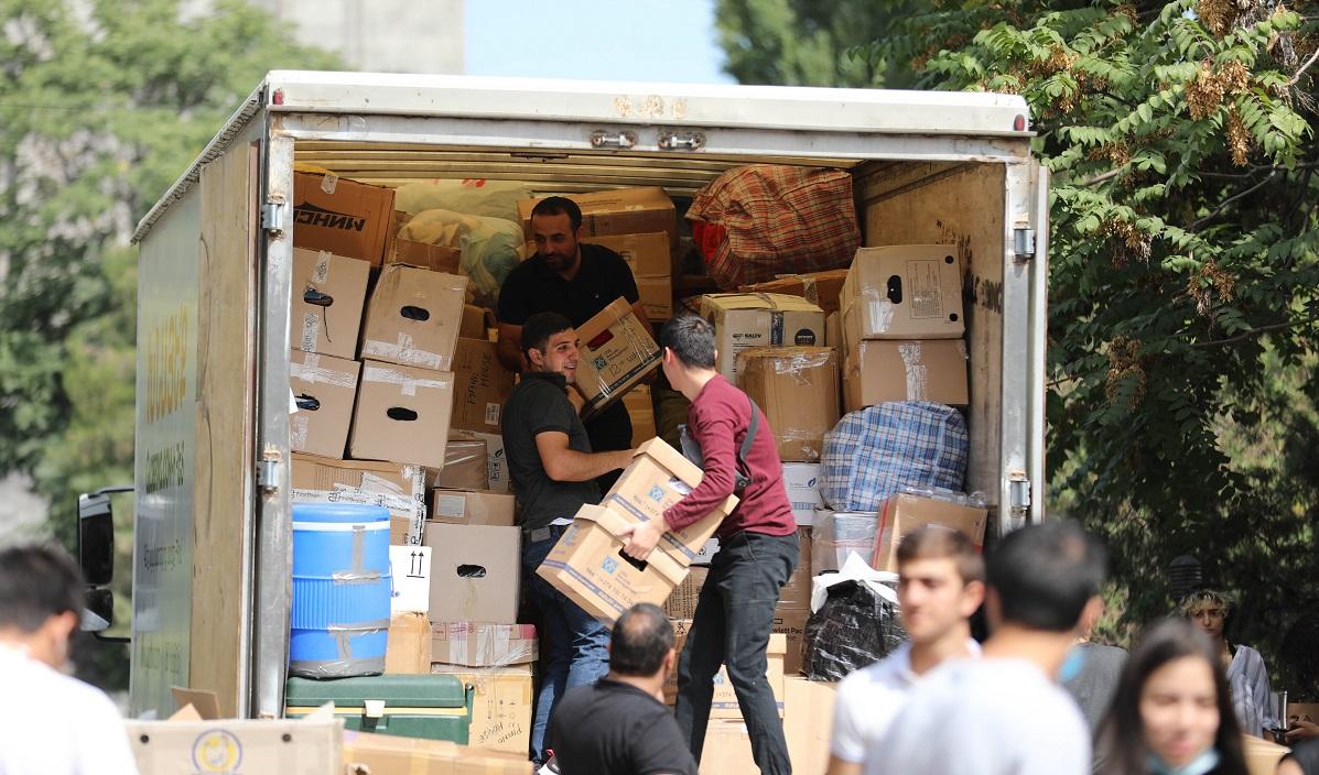 Օգնության հավաքագրման 6 կետ Երևանում. Թարմացված ցուցակներ հոկտեմբերի 26-ի դրությամբ