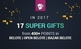 Vbet Belote continues its tradition of giving amazing gifts!
