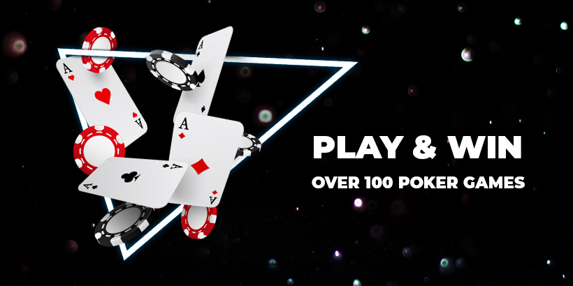 Play and Win over 100 poker games