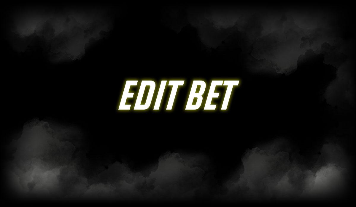 Edit Bet Feature