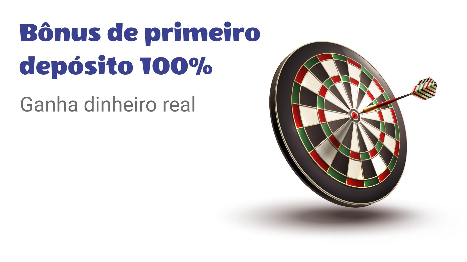 Bônus de Primeiro Depósito 100% no Cassino