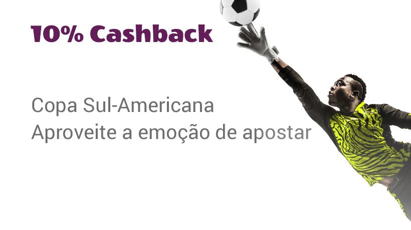 Cashback Copa Sul-Americana